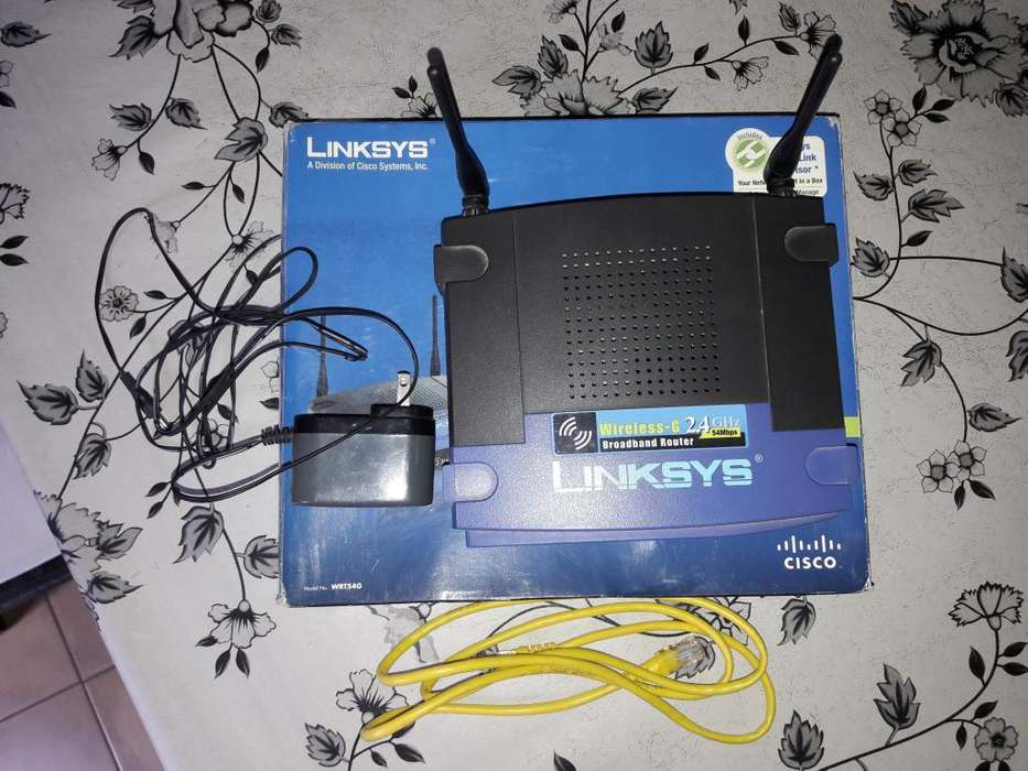 Router Linksys Wap54gs Usado Impecable