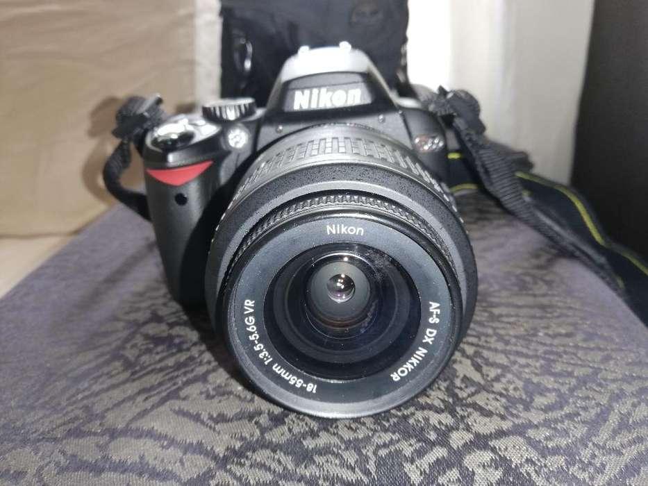 Cámara Nikon D-60