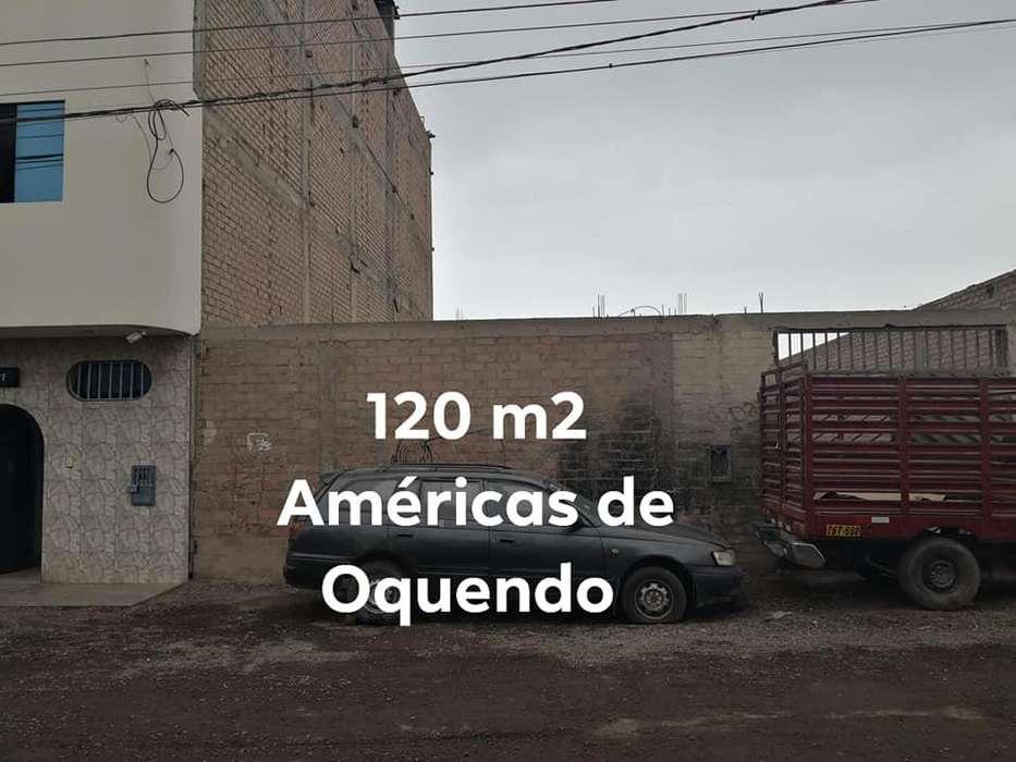 Vendo terreno de 120 m2 en Oquendo en el CALLAO