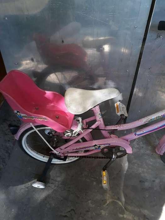 Bicicleta Rodado 20 Niñas Exelente Estad
