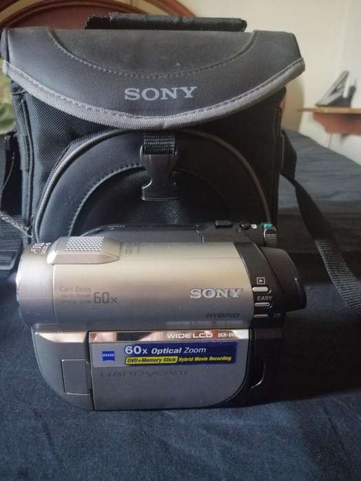 Filmadora Handycam <strong>sony</strong> Wide Lcd Dvd
