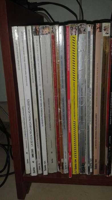 Vendo 17 revistas S O H O