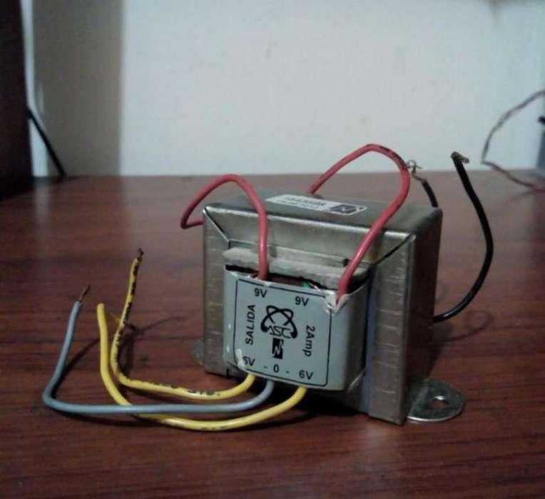 Transformador de Voltaje con Secundario