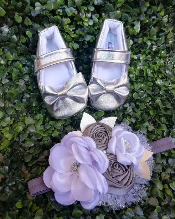 Baletas Zapatos Bebe Niña Navidad