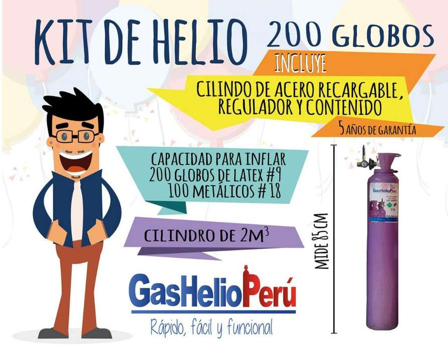 Cilindro de Helio 931551601