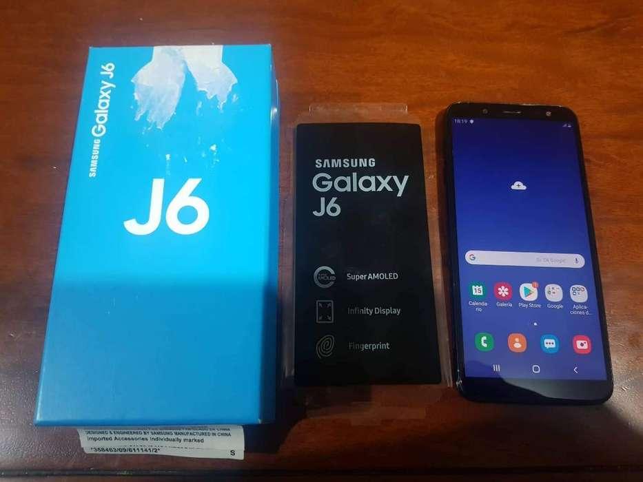Flamante Samsung J6 2019 32gb