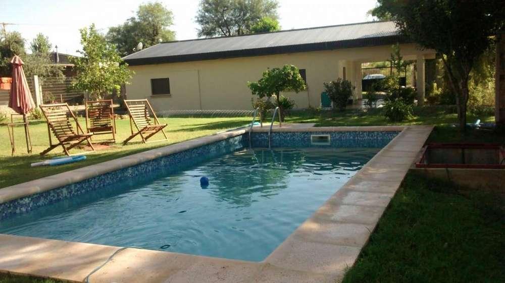 fk90 - Cabaña para 2 a 7 personas con pileta y cochera en Chilecito