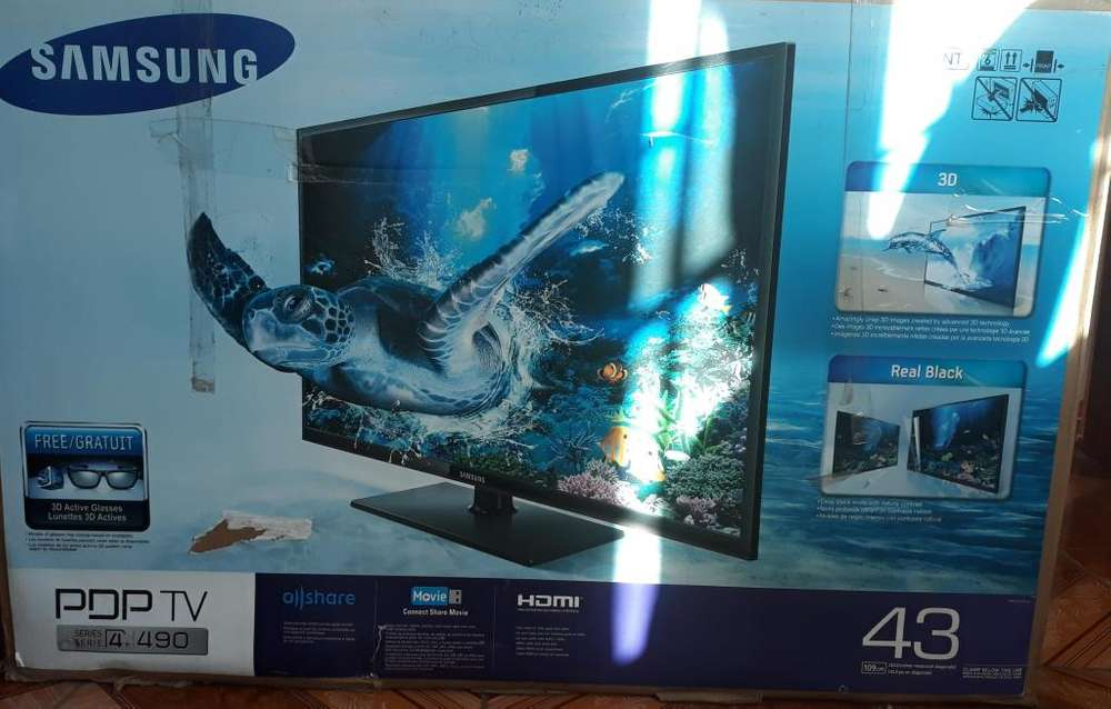 TV Samsung series 4 PDP 3D