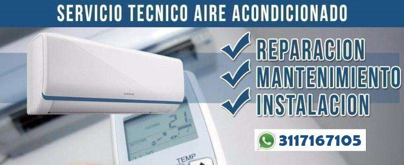 Reparacion y mantenimiento de aire acondicionado de cualquier marca a domicilio