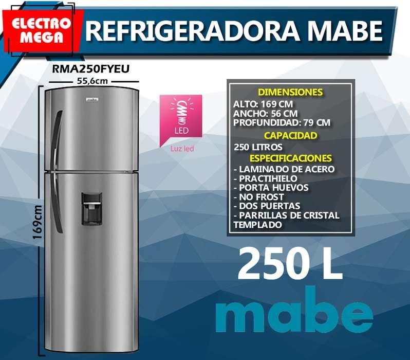 Refrigeradora Mabe 250Litros Modelo RMA250FYEU