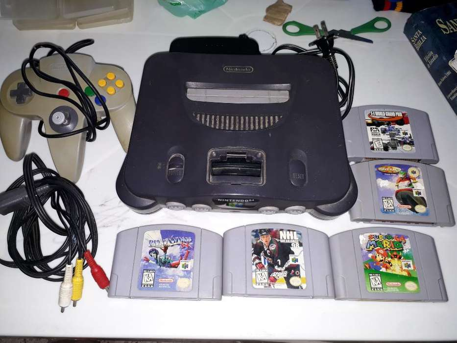 Nintendo 64 con Mario Y Más Juegos