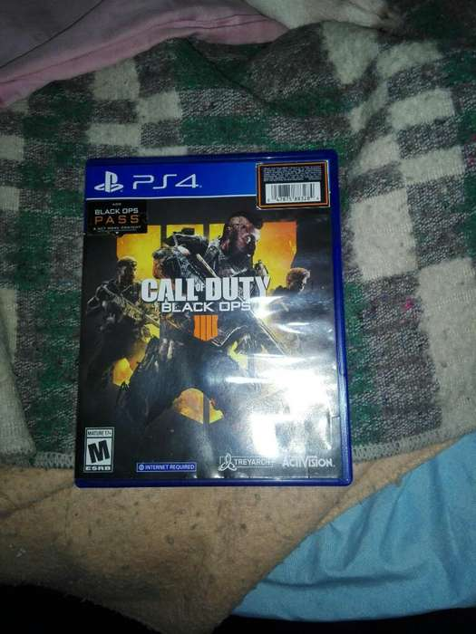 Juego Call Of Duty Black Ops 4 Ps4