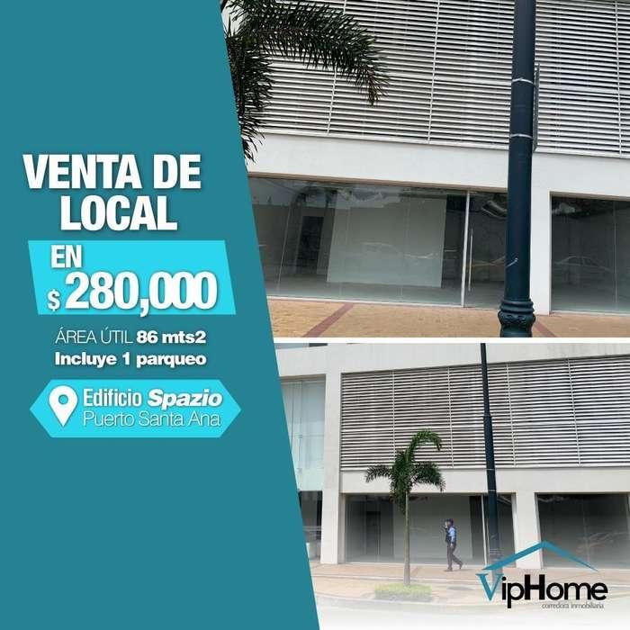 Local en Puerto Santa Ana Edificio Spazio