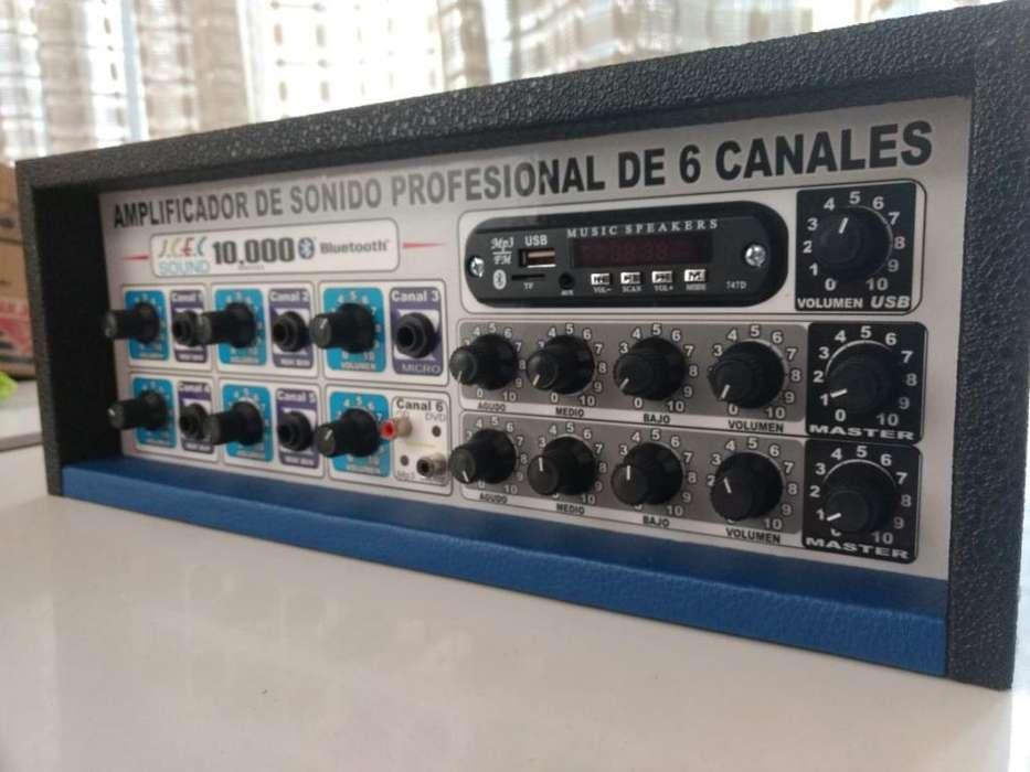 Vendo Amplificador de Sonido C Bluetoot