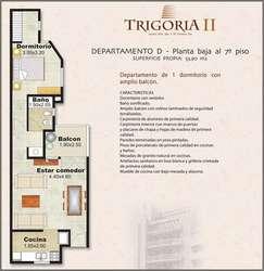 Departamento 1 Dorm. 54m, C/escritura, Córdoba, B° General Paz