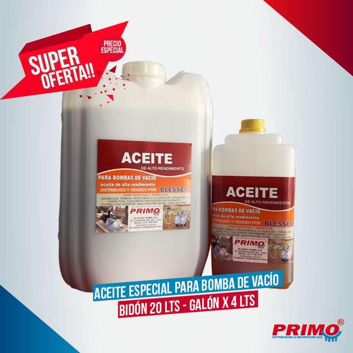 Aceite Especial para Bomba de Vacío Super Promoción