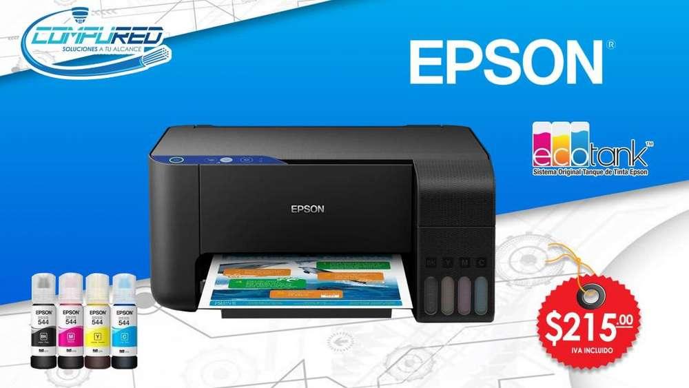 <strong>impresora</strong> Epson Multifunción L3110