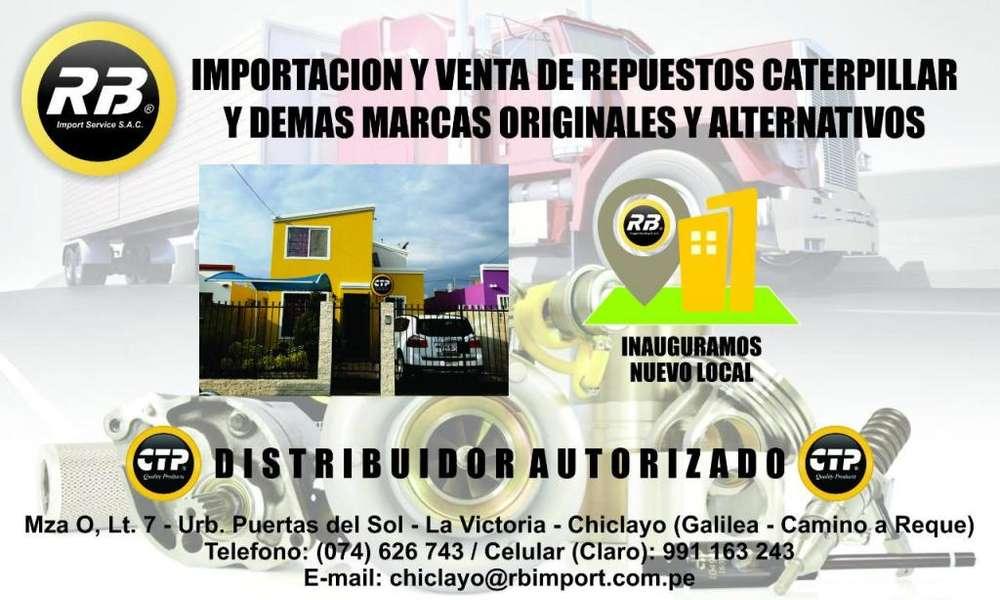 venta de repuestos de maquina pesada CAT y CTP ORIGINALES IMPORTADOR DE ESTADOS UNIDOS