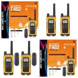 RADIO MOTOROLA T400 o T402, 35 MILLAS / 56 KMS. 22 CANALES. 2 RADIOS, CAJA SELLADA