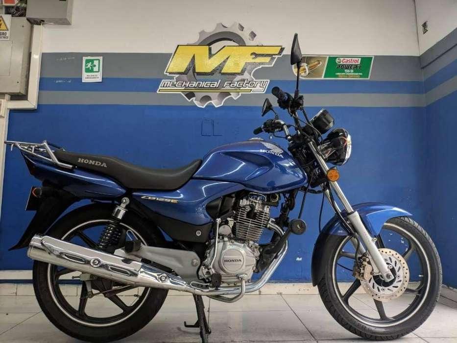 HONDA CB 125 MODELO 2012 PERFECTO ESTADO