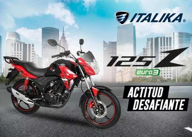 ACTITUD DESAFIANTE : Moto Italika 125 Z