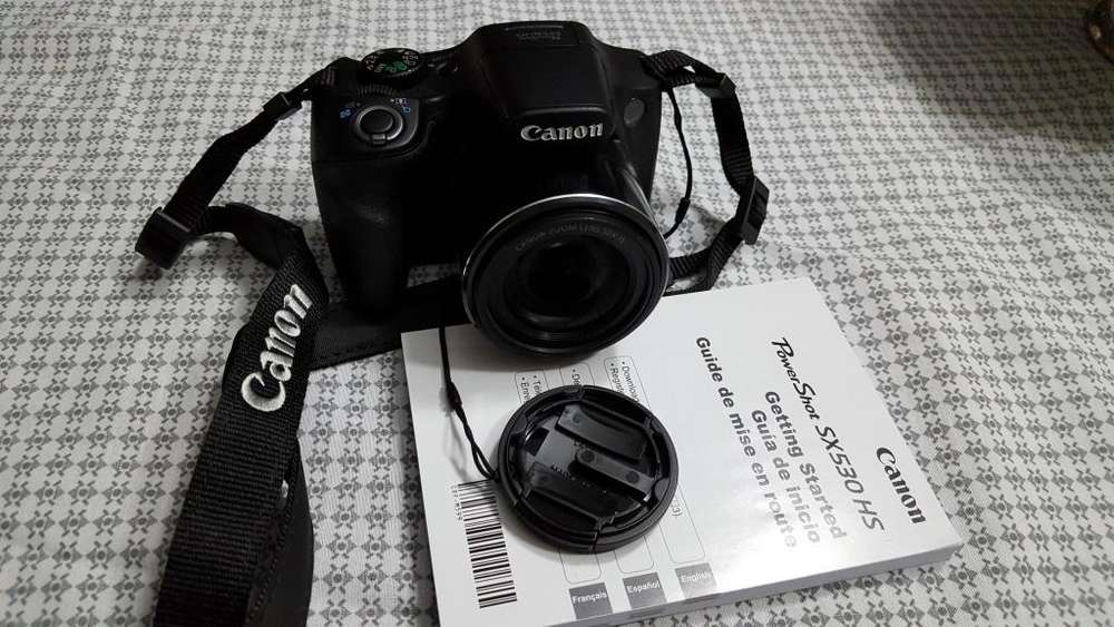 Camara Canon SX 530 HS - De oportunidad