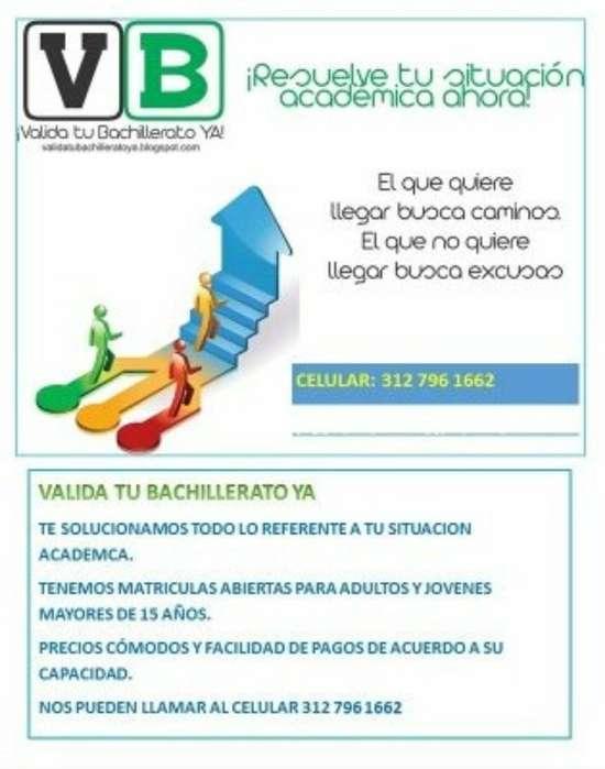 Valida Bachillerato-clases Matemáticas