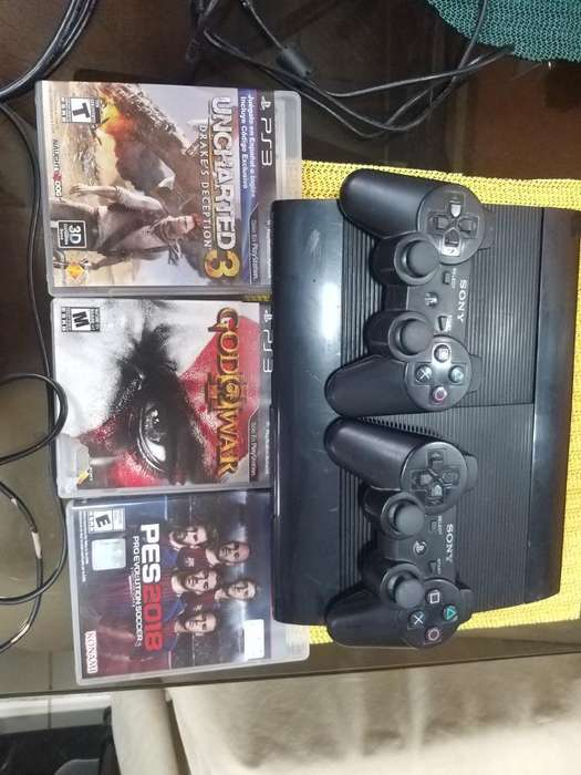 Consola Play Station 3.