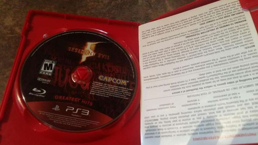 Juego Play 3 ..resident Evil 5