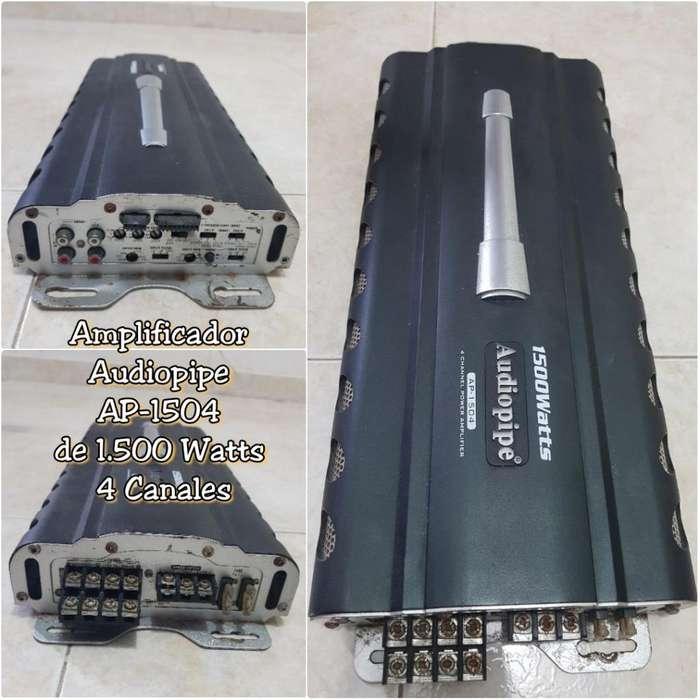 Amplificador Planta Audiopipe 1500 Watts