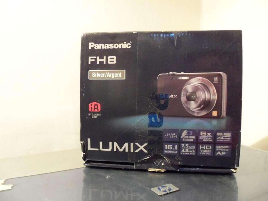 Camara Panasonic FH8 2500 pesos impecable
