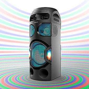 Minicomponente Sony Mhc-V71