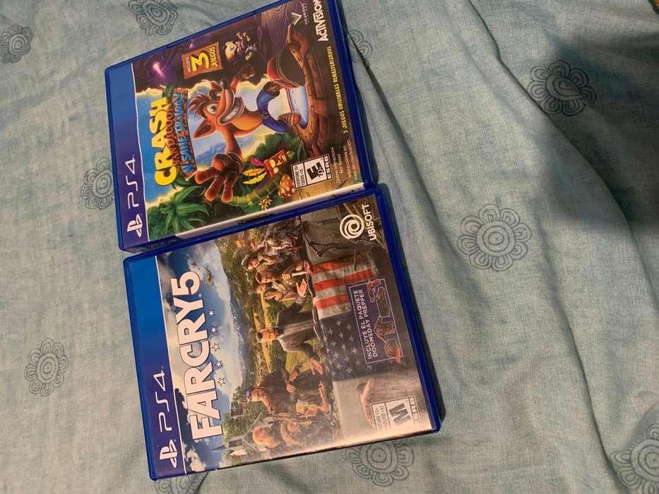 Far Cry 5 Crash N sane trilogy PS4