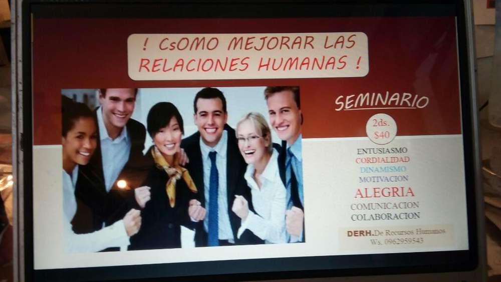 !! <strong>seminario</strong> de Relaiones Humanas !!