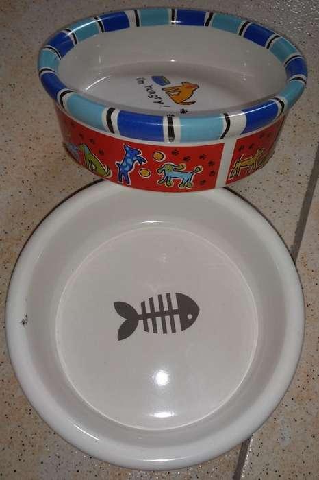 Comederos Mascota Ceramica