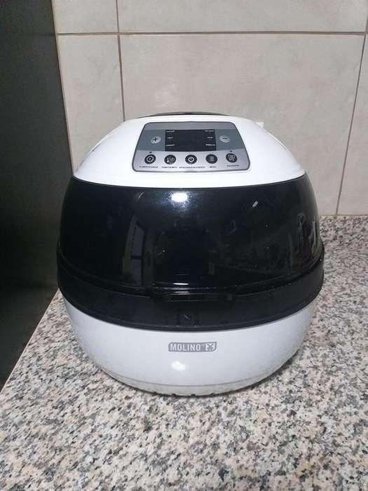 Molino Air Fryer Horno Digital 7 En 1 Para Cocinar Sin Aceite.