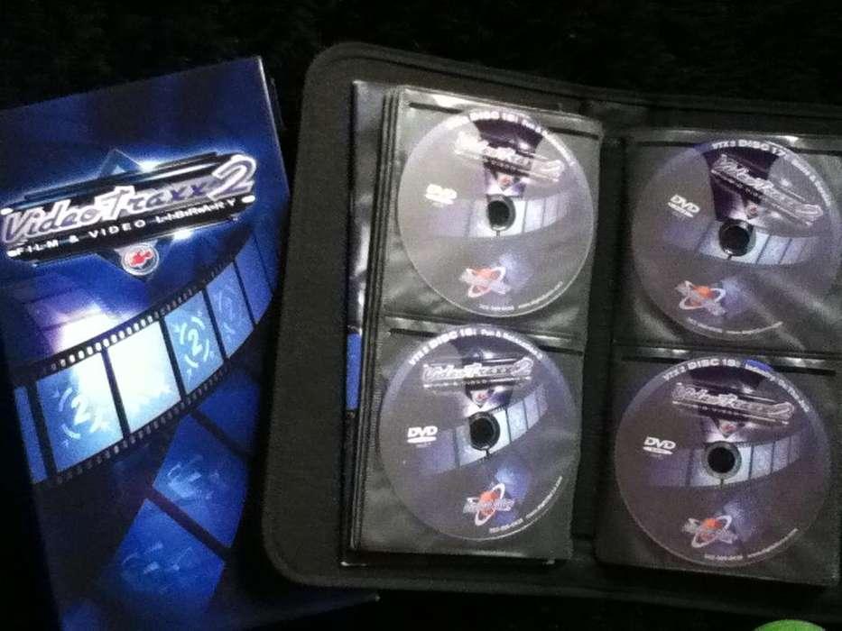 VIDEO TRAXX 3 EN DVD CON EFECTOS PARA EDICION