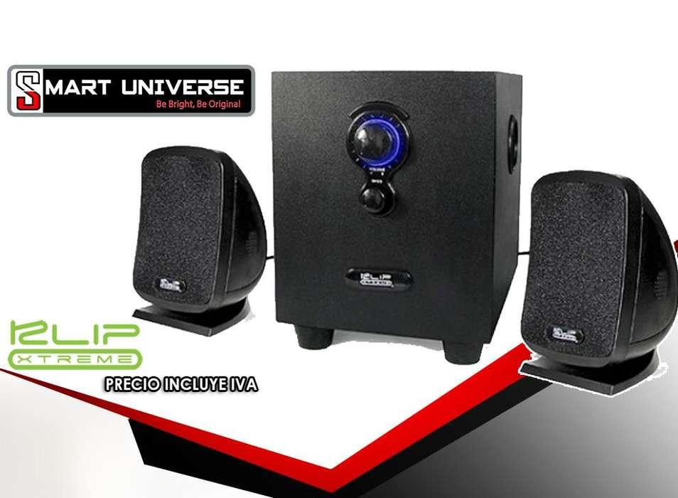 Parlante Klip Xtreme Kss710 2.1 10w 3.5mm