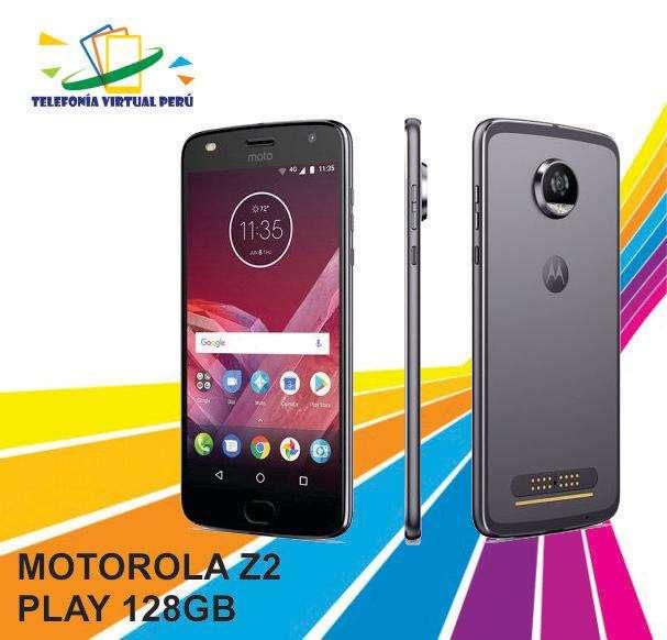 MOTOROLA Z3 PLAY 128GB/6RAM SOMOS TELEFONÍA VIRTUAL PERÚ 964334420