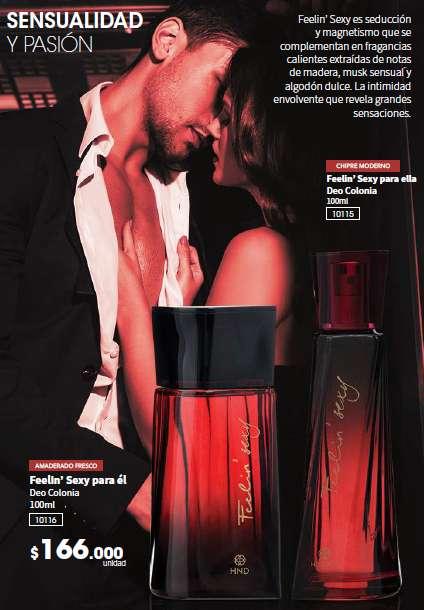 Feelin Sexy para el Perfume HINODE
