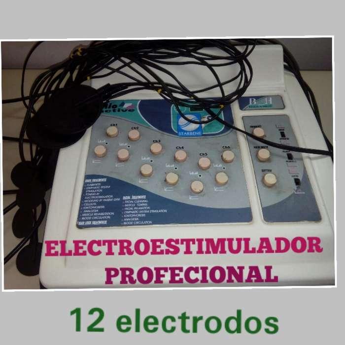 Electroestimulador 12 Electrodos
