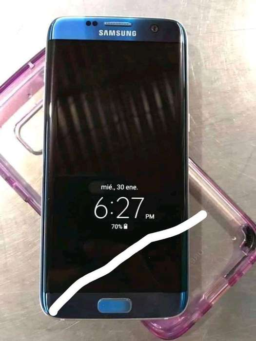 Vendo S7 Edge Clisado Inotable 1100 Bs