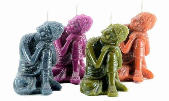 <strong>vela</strong>s Aromáticas Buda, Ganesh, Kwan Yin