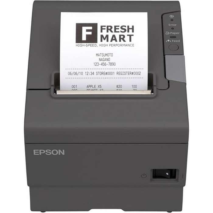 Impresora Epson TMT88V termica ticketera RED RJ45 ETHERNET USB C31CA85656 TM T88V
