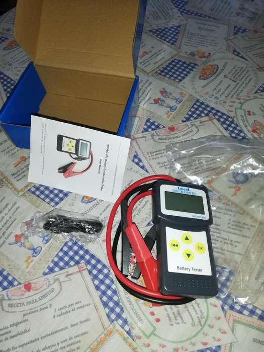 scaner probador digital de baterias con impresora nuevo