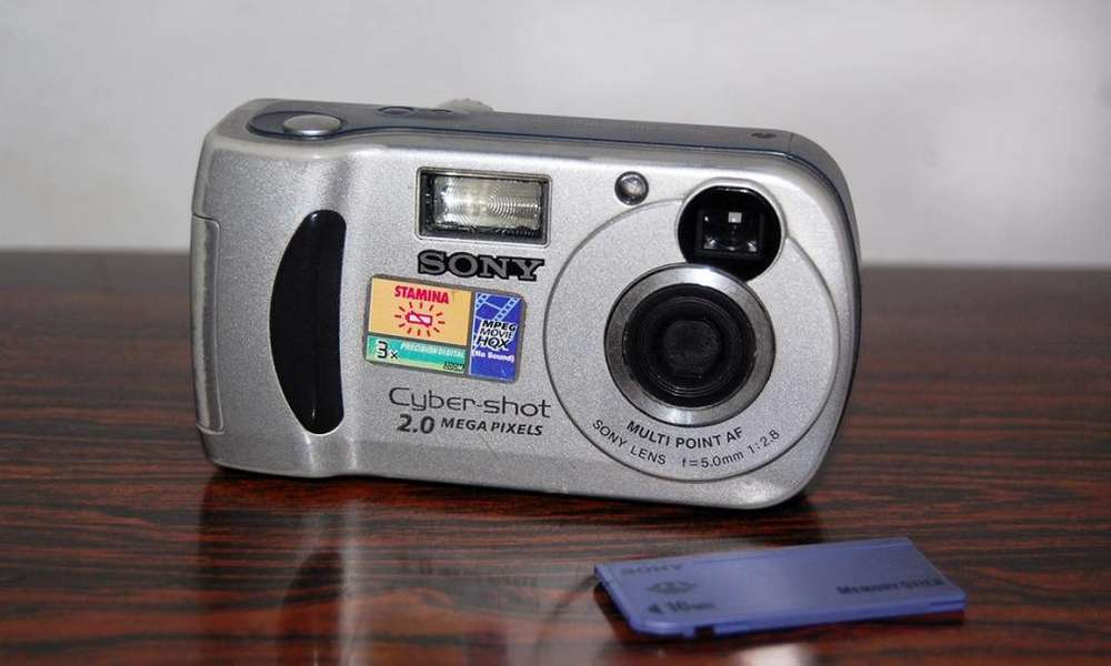 Camara Sony Cybershot 2.0