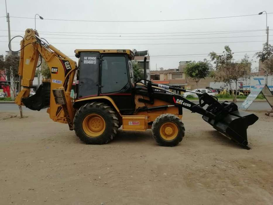 Ocasión Retroexcavadora Cat420d <strong>4x4</strong> Full