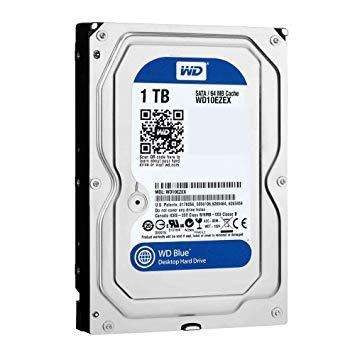 Disco Duro Hdd Wd Blue 1tb 7200 Rpm
