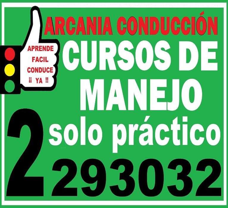 CLASES DE MANEJO solo practico.