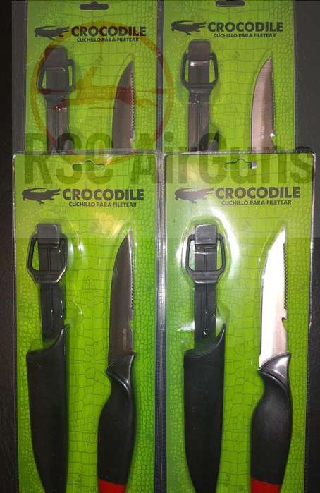 Cuchillos para filetear (incluyen vaina)